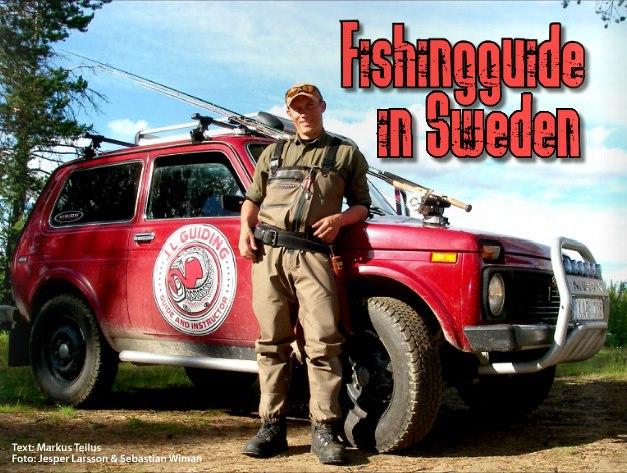 Fishingguide in Sweden - Jesper Larsson