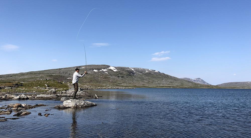 Flugfiske och kastträning